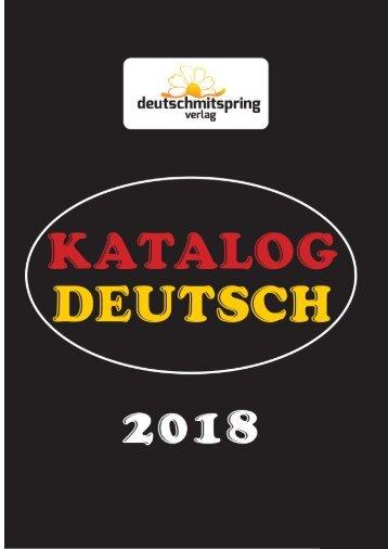 Almanca Katalog 2018