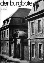 Der Burgbote 1972 (Jahrgang 52)