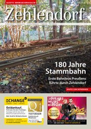 Gazette Zehlendorf Mai 2018