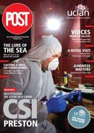 The Post - UCLan staff magazine (Spring 2018 issue)