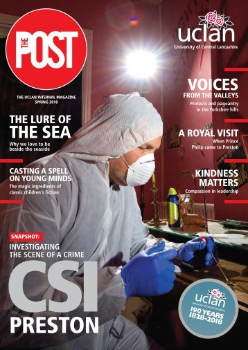 The Post - UCLan staff magazine (Spring 2018 issue)