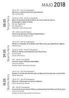 II Seminário de Flauta Doce da UFRJ - Caderno de Programação - Page 5