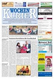 Wochen-Kurier 18/2018 - Lokalzeitung für Weiterstadt und Büttelborn