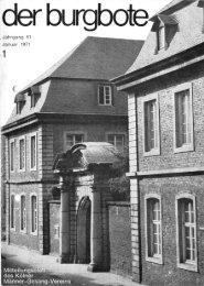 Der Burgbote 1971 (Jahrgang 51)