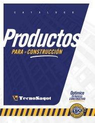 Catálogo TECNOSAGOT - Productos + Servicios