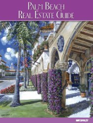 May 2018 Palm Beach Real Estate Guide