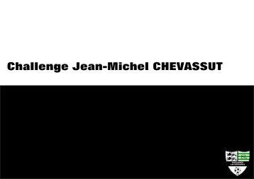 Le livre du challenge Jean-Michel Chevassut