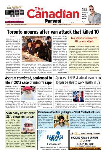 The Canadian Parvasi - Issue 43