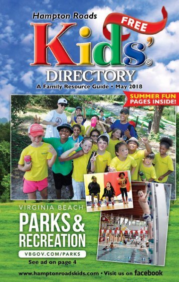 Hampton Roads Kids' Directory: May 2018