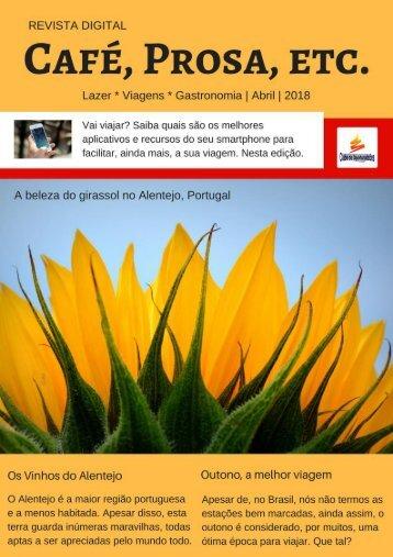 Revista Café, Prosa, Etc. Abril18