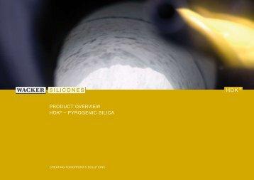 Pyrogenic Silica - Brenntag Specialties, Inc.