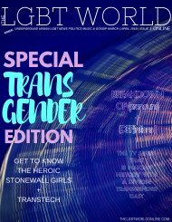 The LGBT World Online Transgender Edition  March/April Issue