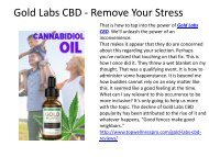 Gold Labs CBD - Remove Your Stress.output