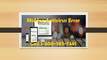 Call 1-800-583-7461|How to Fix McAfee Antivirus Download Error 76565?