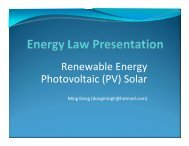 Renewable Energy Photovoltaic (PV) Solar