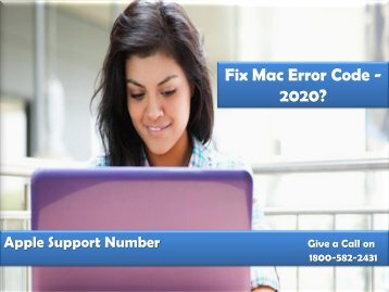 Fix Mac Error Code -2020