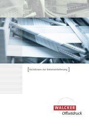 [Richtlinien zur Datenanlieferung ] - walcker.de
