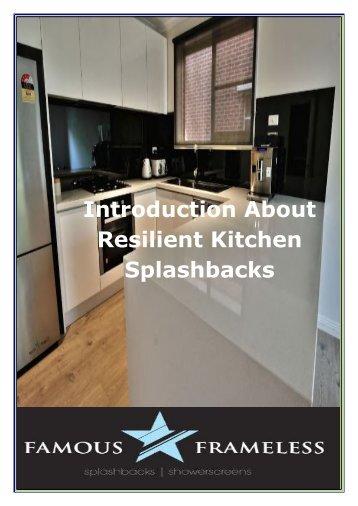 Highly Resilient Kitchen Splashbacks in Melbourne