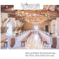 Feste feiern im Schlosscafe Restaurant in Beuren