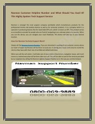 Navman Customer Helpline Number And What Should You Avail Of This Highly Spoken Tech Support Service (2)