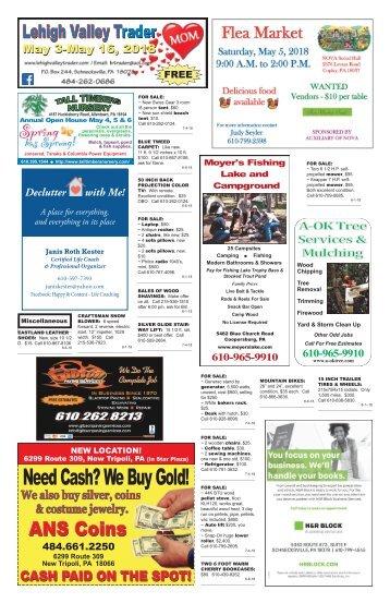 Lehigh Valley Trader May 3-May 16, 2018 issue