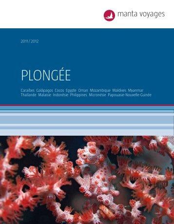 MANTA Plongee 1112