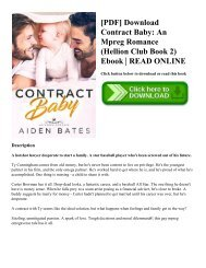 Contract Baby Pdf