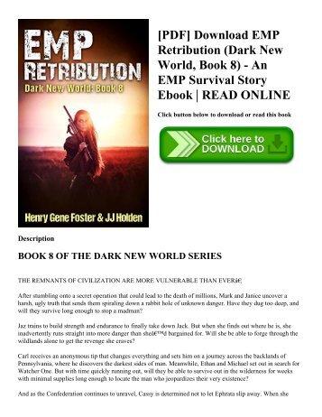 [PDF] Download EMP Retribution (Dark New World  Book 8) - An EMP Survival Story Ebook  READ ONLINE
