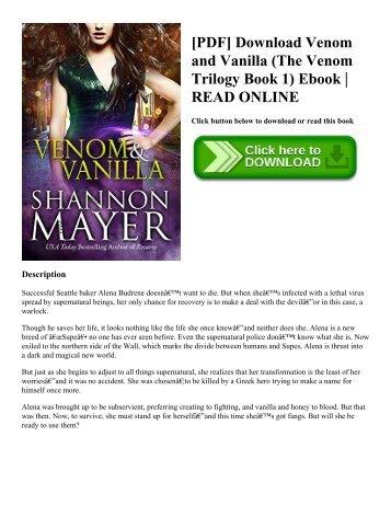 [PDF] Download Venom and Vanilla (The Venom Trilogy Book 1) Ebook  READ ONLINE