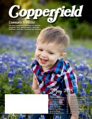 Copperfield May 2018