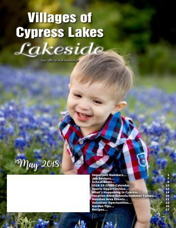 VCL Lakeside May 2018