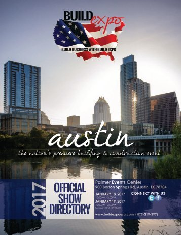 Austin 2017 Build Expo Show Directory