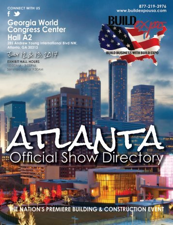 Atlanta 2017 Build Expo Show Directory
