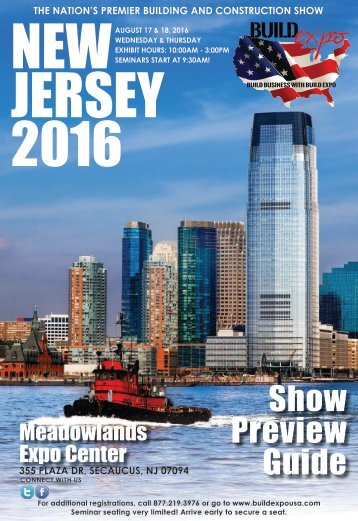New Jersey 2016 Build Expo Show Preview Guide