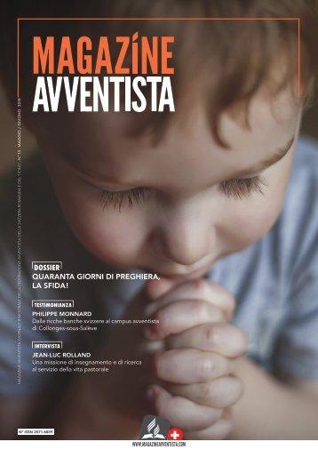 Magazine Avventista N°15 - MAGGIO / GIUGNO 2018