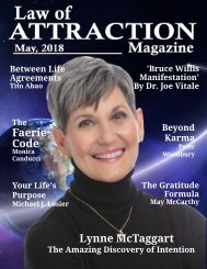 Law of Attraction Magazine - May 1, 2018