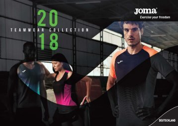 joma Teamsport-Katalog 2018