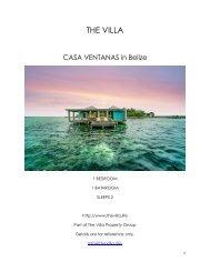 Casa Ventanas - Belize