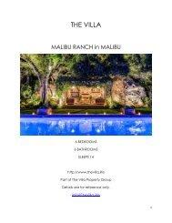 Malibu Ranch - Malibu