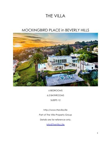 Mockingbird Place - Beverly Hills