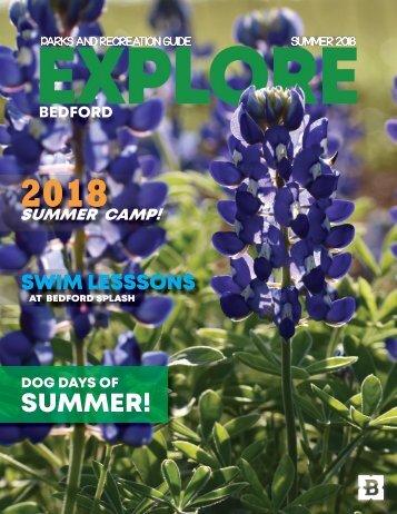 Explore Summer 2018
