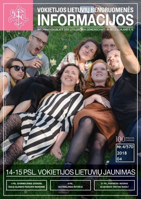 "VLB ""INFORMACIJOS"", 2018 M. BALANDIS, NR. 4/570"