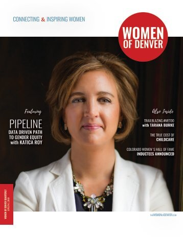 Women of Denver Magazine - Spring 2018 Quarterly