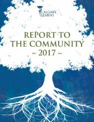 Report to the Community 2017