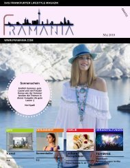Framania Magazin Ausgabe Mai 2018