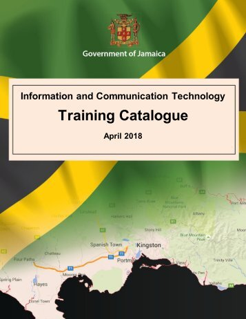 Government of Jamaica -  ICT Training  Catalogue