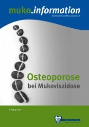Osteoporose - Mukoviszidose e.V.