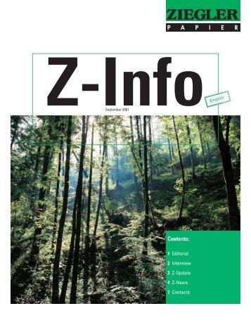 Z-Info - Ziegler Papier