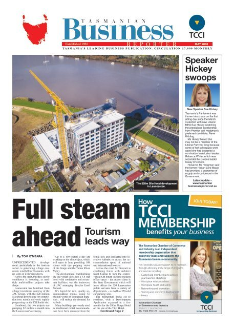 Tasmanian Business Reporter May 2018