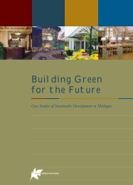 Building Green for the Future - US Environmental Protection Agency
